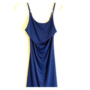 Navy nightout dress